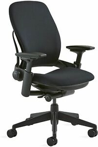 Herman Miller Aeron Open Box Fully Loaded Chairs Size B Titanium