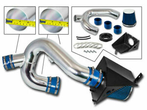 Bcp Blue 12 14 Ford F150 3 5 V6 Ecoboost Heat Shield Cold Air Intake Kit Filter