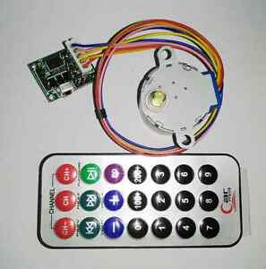 4 phase 5 wire Stepper Motor remote Control Rc Adjustable Speed driver Board