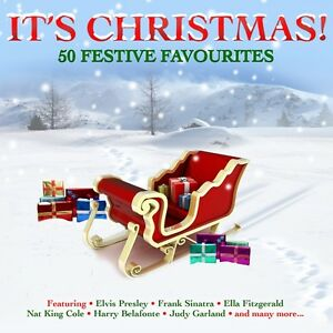 It#x27;s Christmas VARIOUS ARTISTS Best Of 50 Classic Holiday Songs MUSIC New 2 CD $6.99