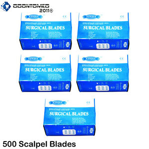 500 Scalpel Blades 21 Surgical Instruments