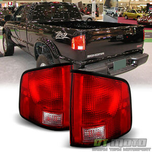 1994 2004 Chevy S10 Gmc S15 Sonoma Tail Lights Brake Lamp Left Right Aftermarket