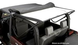 Bestop 51819 15 Headliner 2004 2006 Jeep Wrangler Unlimited Black Denim
