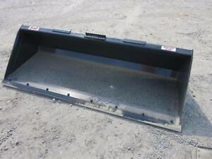 84 Stout Heavy Duty Quick Attach Bucket For Skid Steer Loaders