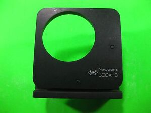 Newport Nrc Optical Mount With 2 Micrometer 3 600a 3 Used
