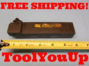 Kennametal Nsr 853 D 1 1 4 Tall 1 Wide Top Notch Grooving Insert Turning Tool