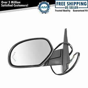 Mirror Power Folding Heated Signal Memory Textured Black Left Lh For Gm Pickup