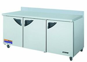 Turbo Air Twr72sd 19 Cu Ft Super Deluxe Series Worktop Refrigerator With Effic
