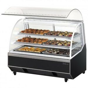 Turbo Air Tb5 60 quot Dry Bakery Case With High Density Pu Insulation Sloped Re