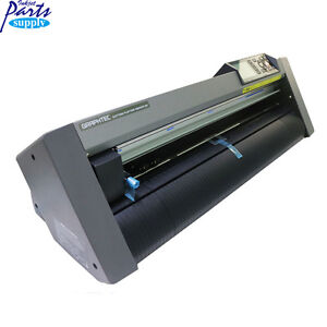 Graphtec 24 Cutting Plotter Jet Printer Vinyl Cutter Ce6000 60 100 Original