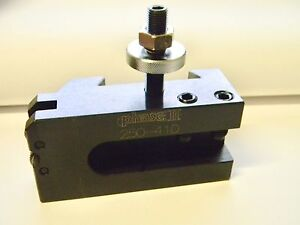 Phase Ii Series Ca Tool Post Holder For Knurling Turning Facing Holder 250 410