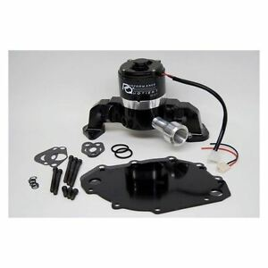 Prw 4446017 Big Block Ford 429 460 High Flow Electric Racing Water Pump Black