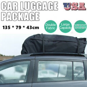Waterproof Vehicle Car Auto Suv Roof Top Cargo Bag Luggage Travel Bag Carrier Us