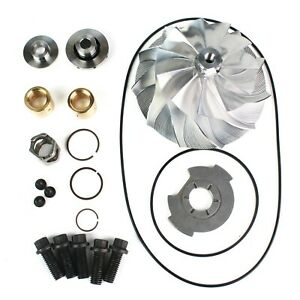 04 5 05gmc Chevy Duramax 6 6 Lly Gt3788va Turbo Charger Billet Wheel Rebuild Kit