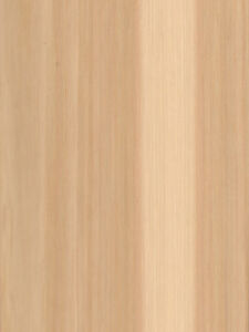 Pecan hickory Veneer Plain Sliced Wood On Wood Backer Backing 4 X 8 48 X 96