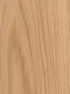 Red Oak Wood Veneer Plain Sliced Wood On Wood Backer Backing 4 X 8 48 X 96