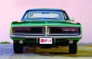 1969 Charger Grill Moldings 4 Pcs Clearance