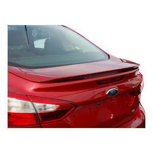 Un painted grey Primer Spoiler For Ford Focus 4dr 2012 2014 Spoiler Wing New