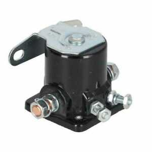Starter Solenoid Style 12 Volt 4 Terminal Compatible With Ford