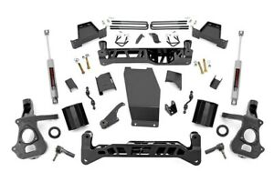7 Lift Kit 16 18 Chevy Silverado Gmc Sierra 1500 4wd Stamped Steel Cntr Arm