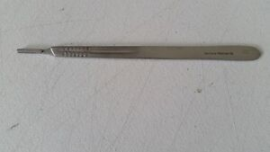 New Scalpel Knife Handle 4l German Stainless Steel Ce Surgical