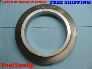 7 7174 Class X Master Smooth Plain Bore Ring Gage 7 23 32 7 7187 0013 Undersize