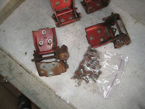 1968 Chevelle Pontiac Buick Oldsmobile 442 Gto Gs Door Hinges And Hardware