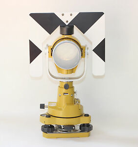 Topcon Single Prism Tribrach Adapter Set System For Total Station Surveying