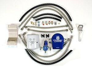 Sinister Diesel Regulated Fuel Return Kit 99 03 Ford Super Duty 7 3 Powerstroke