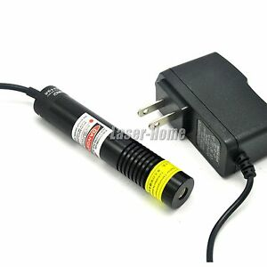 650nm 150mw Red Laser Line Diode Module W ac Adapter For Woodworking Cutting
