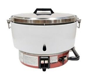 Town Rm 50n r Ricemaster Commercial Rice Cooker Natural Gas 55 Cup Capacity