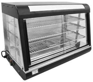 New 36 Food Warmer Display Case Uniworld Udw 2 4554 Heated Commercial Table Top