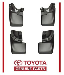 2017 Genuine Toyota Tacoma Mud Flaps Mudflaps Splash Guards Factory Oem 4pc Set