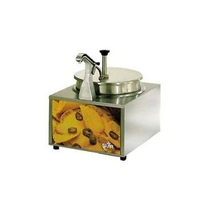 Star Mfg Lighted 11 Qt Cheese Warmer W Pump And Heated Spout