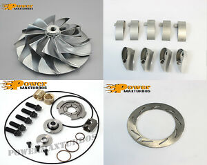 06 07 Gmc Chevy Duramax6 6 Lbz Billet Wheel Rebuild Kit For Garrett Turbocharger