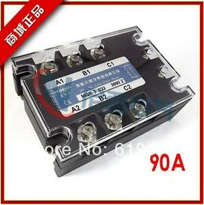 Three phase Solid State Relay Dc ac Mrssr 3 Mgr 3 032 3890z 90a