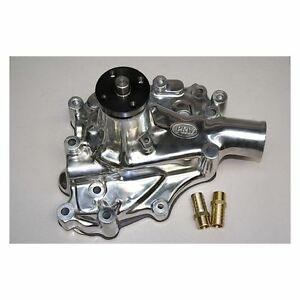 Prw 1430210 Polished High Perf Alum Water Pump Ford 302 351w 1970 To 1987