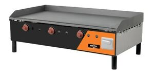 New Commercial Lp Gas Countertop Griddle 40 Ng Kit Available Cg10