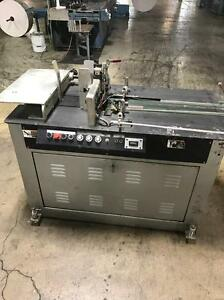 Kirk Rudy Model 215 V Base Shuttle Feeder And Inkjet Transport Base
