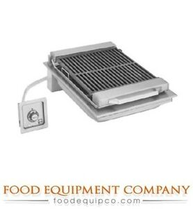 Wells B 446 Charbroiler Built in Electric Cast Iron Grate 20 w