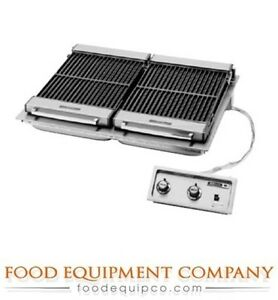 Wells B 506 Charbroiler Built in Electric Cast Iron Grate 36 w