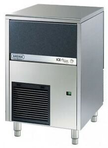 Eurodib Cb316a Undercounter Ice Cube Maker With Bin By Brema All Stainless Steel
