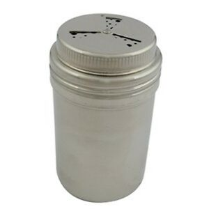 Adjustable top 9 Oz 3 way Dredge shaker