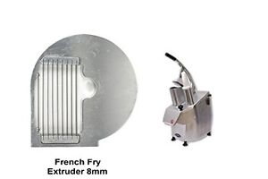General 8mm French Fry Extruder Slicing Disc Vegetable Cutter Accessory Gsv t8