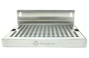 Kegco Sewm 86 8 Wall Mount Drip Tray No Drain
