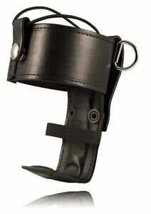 Boston Leather Genuine Leather Universal Firefighter s Radio Holder Police Ems