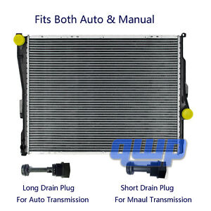 New Radiator For Bmw E46 320 323 325 328 330 Z4 2 2 2 5 2 8 3 0 3 2 L6 A T
