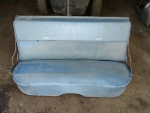 65 66 Ford Galaxie 9 Passenger Station Wagon 2nd Row Back Rear Bench Seat
