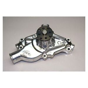 Prw Chevy Sbc V8 1955 1995 High Performance Short Aluminum Water Pump Polished