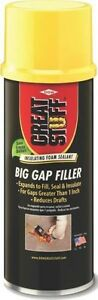 New Case Of 12 Great Stuff 157906 Triple Expanding 12oz Spray Foam Insulation